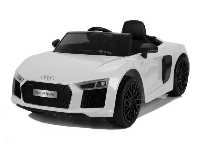 Elektrische Speelgoed Kinderauto. Audi R8 Spyder White